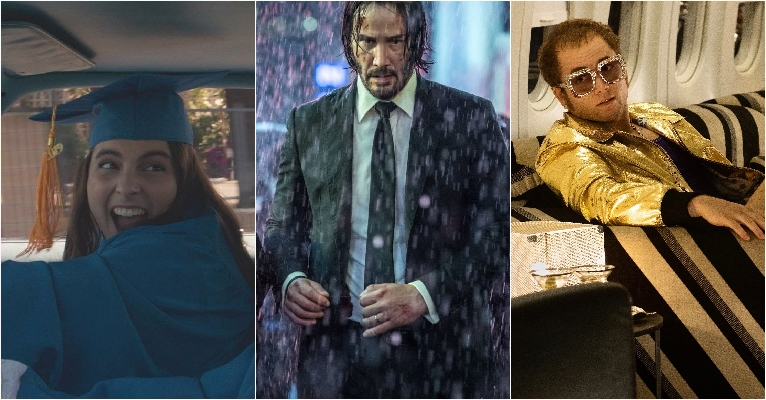 Booksmart, John Wick i Rocketman